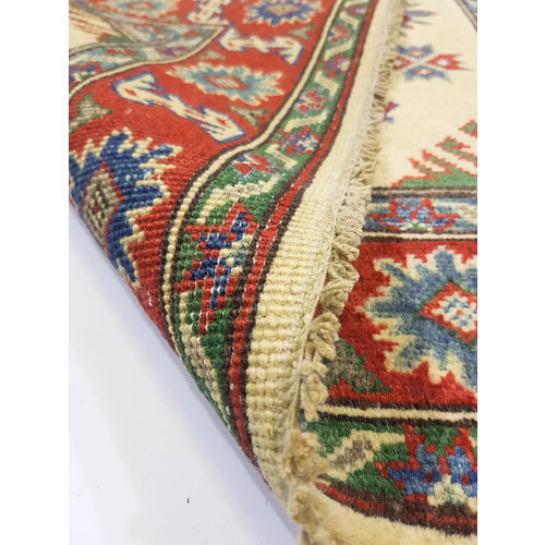 Handgeknüpft wolle kazak teppich 155x100 cm   Orientalisch  teppich
