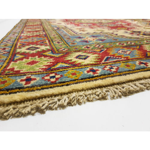 Handgeknoopt Royal kazak tapijt 148x103 cm   vloerkleed Traditional