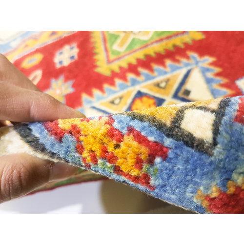 Handgeknoopt Royal kazak tapijt 155x92 cm   vloerkleed Traditional