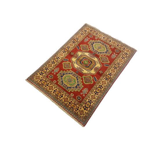 Handgeknüpft wolle kazak teppich 146x100 cm   Orientalisch  teppich
