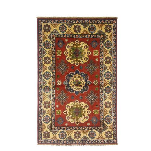 Handgeknoopt Royal kazak tapijt 157x99 cm   vloerkleed Traditional