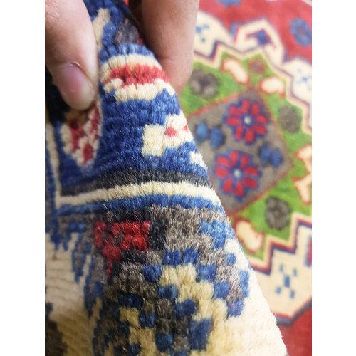 Traditional Wool Rug Tribal 5'15x3'24 Hand knotted  carpet  Royal kazak