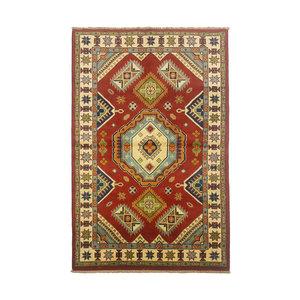 Traditional Wool Rug Tribal 5'08x3'05 Hand knotted  carpet  Royal kazak