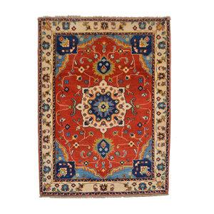 Handgeknüpft wolle kazak teppich 151x110   Orientalisch  teppich