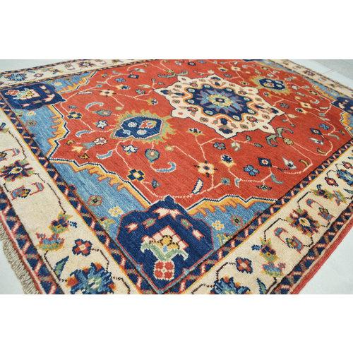 Handgeknüpft wolle kazak teppich 151x110   cm   Orientalisch  teppich