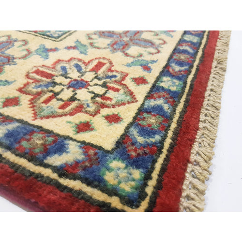 Traditional Wool Rug Tribal 4'72x3'28 Hand knotted  carpet  Royal kazak