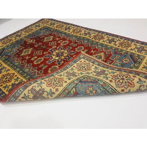 Handgeknoopt Royal kazak tapijt 144x100 cm   vloerkleed Traditional