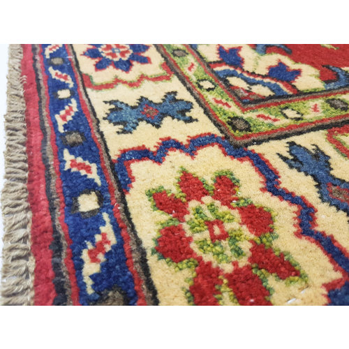 Traditional Wool Rug Tribal 4'75x3'28 Hand knotted  carpet  Royal kazak