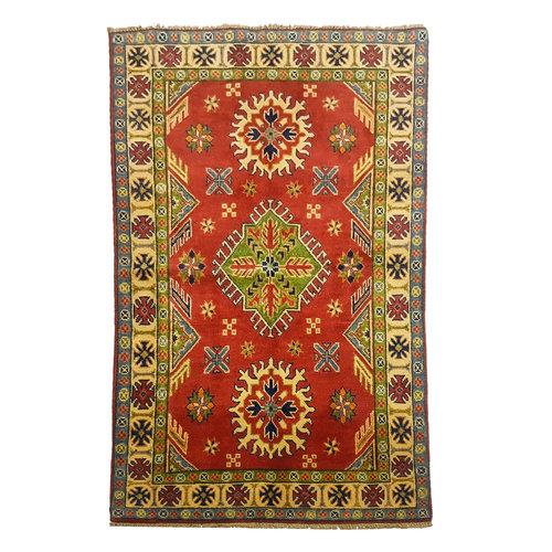 Handgeknüpft wolle kazak teppich 154x94 cm  Orientalisch  teppich