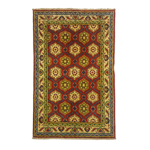 Handgeknoopt Royal kazak tapijt 150x101 cm  vloerkleed Traditional