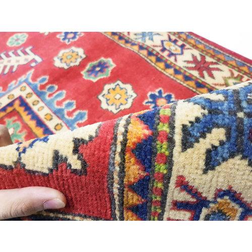 Handgeknoopt RoyalRood kazak tapijt 154x100 cm   vloerkleed Traditional
