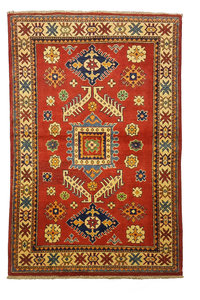 Traditional Wool Red Rug Tribal 5'05x3'28 Hand knotted  carpet  Royal kazak