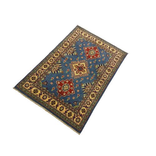 Handgeknoopt Royal kazak tapijt 147x99 cm   vloerkleed Traditional