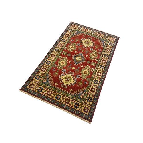 Handgeknoopt RoyalRood kazak tapijt 157x94 cm vloerkleed Traditional