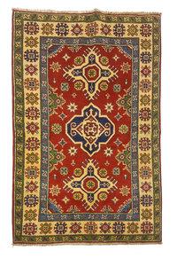 Handgeknoopt RoyalRood kazak tapijt 157x96cm   vloerkleed Traditional