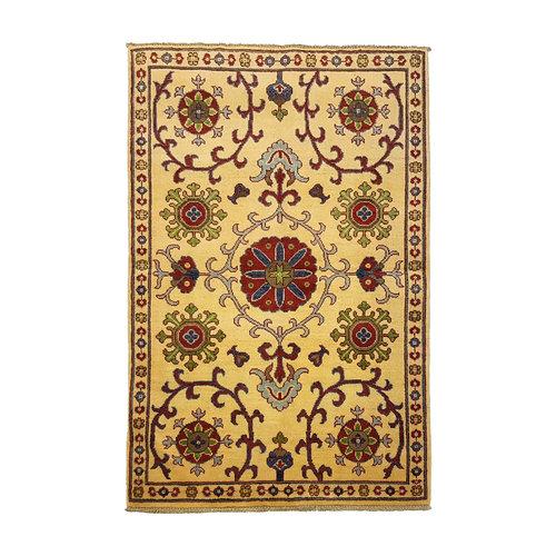 Handgeknoopt Royal  kazak tapijt 151x95 cm   vloerkleed Traditional