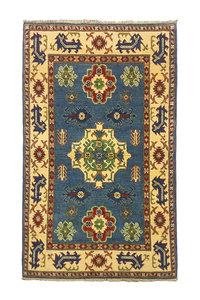 Traditional Wool Tribal 5'01x3'08 Hand knotted  carpet  kazak