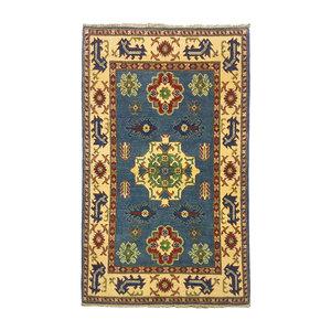 Handgeknoopt Royal kazak tapijt 153x94 cm   vloerkleed Traditional