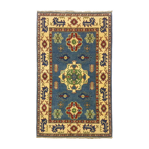 Handgeknüpft wolle kazak teppich 153x94 cm   Orientalisch  teppich