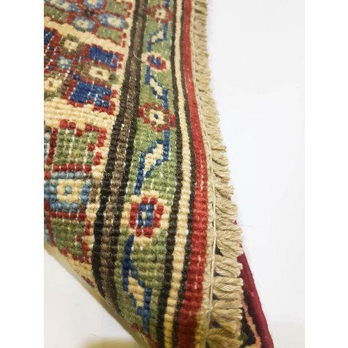 Handgeknüpft wolle kazak Rod teppich 148x94 cm   Orientalisch  teppich