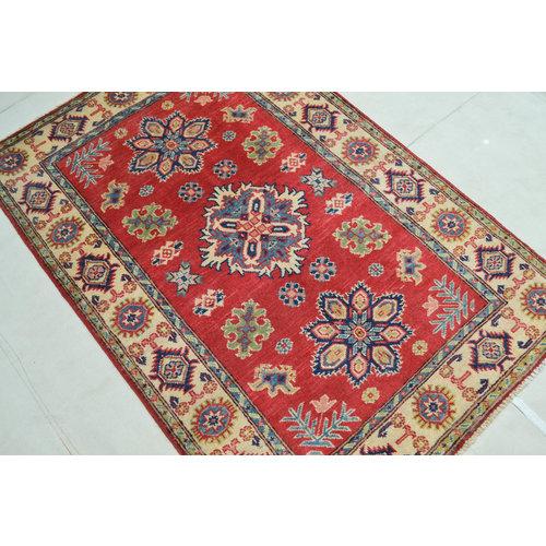 Handgeknüpft wolle kazak Rod teppich 146x99 cm   Orientalisch  teppich