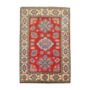 Handgeknoopt kazak rug tapijt 154x102m  oosters kleed vloerkleed