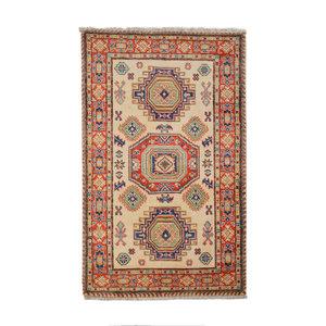 Tribal Hand knotted  carpet  Royal kazak 5'05x3'24 Traditional Wool Rug