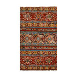 Handgeknoopt Royal  kazak tapijt 153x95 cm   vloerkleed Traditional