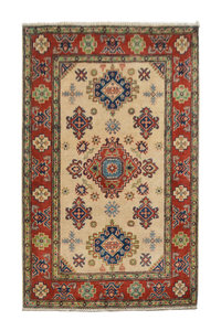 Tribal Hand knotted  carpet  Royal kazak 4'98x3'34 Traditional Wool Rug
