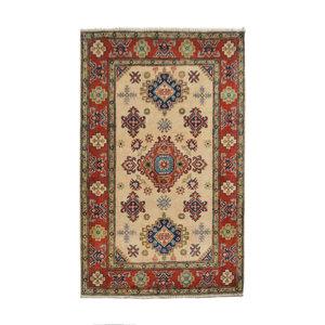 Tribal Hand knotted  carpet  Royal kazak 4'98x3'34 Traditional Wool Rug