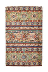 Handgeknoopt Royal  kazak tapijt 159x101 cm   vloerkleed Traditional