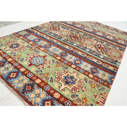 Handgeknüpft wolle kazak teppich 159x101 cm   Orientalisch  teppich