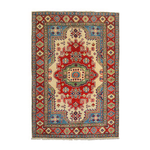 Handgeknoopt Royal  kazak tapijt 154x104 cm   vloerkleed Traditional
