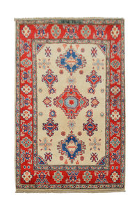 Traditional Wool Rug Tribal 5'08x3'31 Hand knotted  carpet  Royal kazak