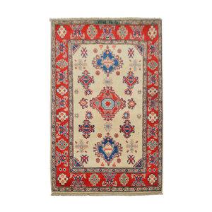 Traditional Wool Rug Tribal 5'08x3'31 Hand knotted  carpet  Royal kazak