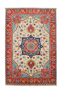 Handgeknoopt Royal kazak tapijt 149x101 cm   vloerkleed Traditional