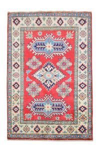 Quality Wool Red Rug Tribal 5'08x3'44 Hand knotted  carpet  Royal kazak