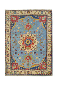 Handgeknoopt Royal kazak tapijt 154x102 cm vloerkleed Traditional