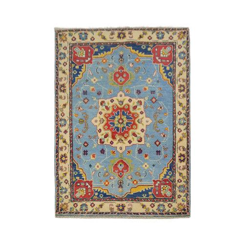 Quality Geometric Wool Rug Tribal 5'05x3'34 Hand knotted carpet Royal kazak