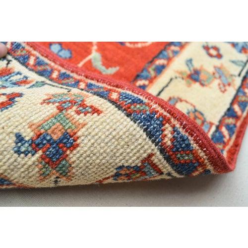 Handgeknüpft wolle kazak Rod teppich 145x103 cm Orientalisch  teppich