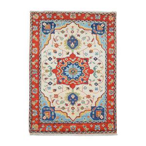 Quality Geometric Wool Rug Tribal 5'11x3'44 Hand knotted carpet Royal kazak
