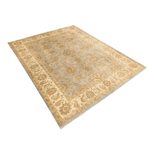 Farahan  Handgeknoopt ziegler tapijt 345x272 cm Oushak fijne tapijt