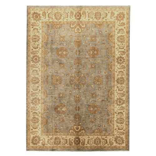 ushak Hand knotted 11'31x8'92  ziegler carpet oushak  fine Rug traditional