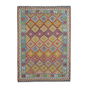 Kelim Teppich 245X175 cm afghan kelim teppich