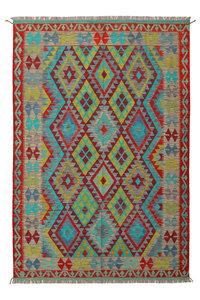Kelim Kleed 244X169 cm Vloerkleed Tapijt Kelims Hand Geweven