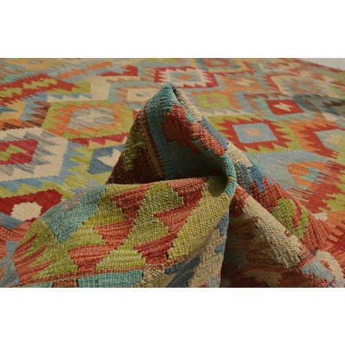 Kelim Kleed 244X178  cm Vloerkleed Tapijt Kelims Hand Geweven