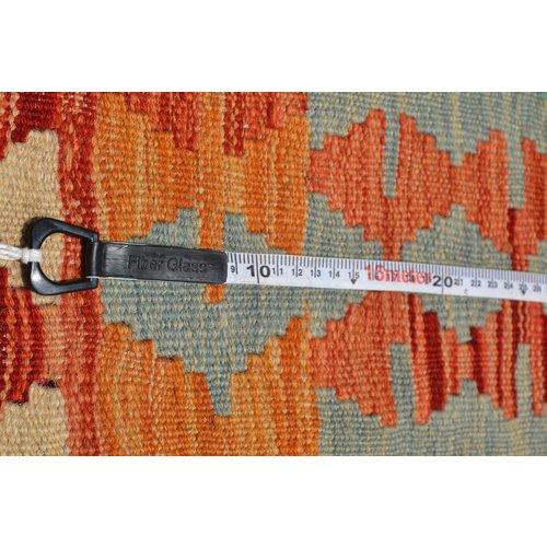 8'00X5'83 Afgan Geometric Hand woven wool kilim Carpet Kelim Rug 244X178 cm