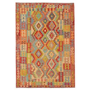 Kelim Teppich 244X178 cm afghan kelim teppich