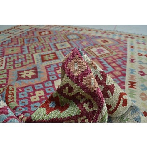 Kelim Kleed 245X179 cm Vloerkleed Tapijt Kelims Hand Geweven