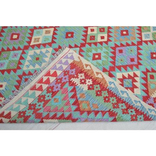 Kelim Kleed 250X166 cm Vloerkleed Tapijt Kelims Hand Geweven